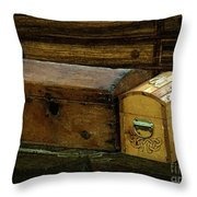 The Captain's Cabin Throw Pillow by RC DeWinter