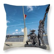 The Captains' Return Throw Pillow
