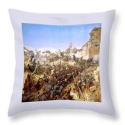The Capture Of Constantine Throw Pillow