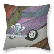 The Car Throw Pillow