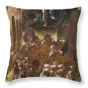 The Car Of Love Throw Pillow