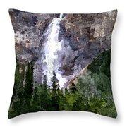 The Cascade Throw Pillow
