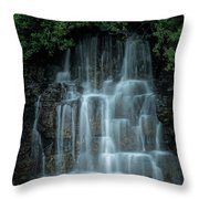 The Cascading Waterfall Throw Pillow
