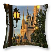 The Castle From The Palace Throw Pillow