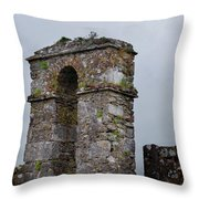 The Castle Gate Throw Pillow