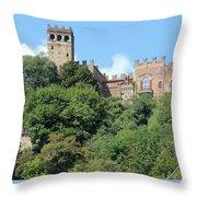 The Castle Of Camino Throw Pillow