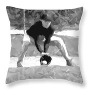 The Catch  II Throw Pillow