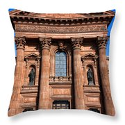 The Cathedral Basilica Of Saints Peter And Paul Throw Pillow