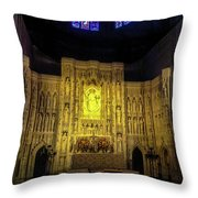 The Cathedral Church Of Saint Peter And Saint Paul Throw Pillow