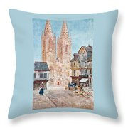 The Cathedral Front Throw Pillow