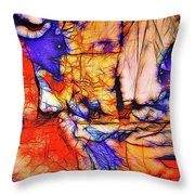 The Cats Throw Pillow