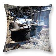 The Cauldrons Throw Pillow