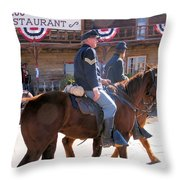 The Cavalry Has Arrived Throw Pillow