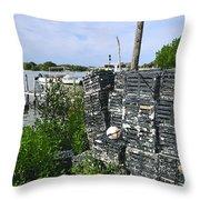 The Cedar Keys Throw Pillow