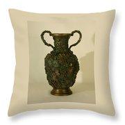 The Cedar Ridge - Wildflower Vase Prickly Pear Side Throw Pillow
