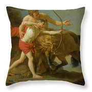 The Centaur Chiron Throw Pillow