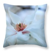 The Center Of Beauty Throw Pillow