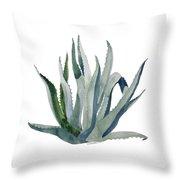 The Centurian Century Plant Throw Pillow