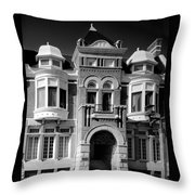 The Century Club  Throw Pillow