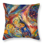 The Chagall Dreams Throw Pillow