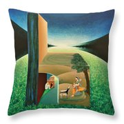 The Chair - A Throw Pillow