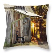 The Chair Throw Pillow by Stephanie Calhoun