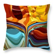 The Chalice II Throw Pillow