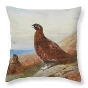 The Challenge By Thorburn Throw Pillow