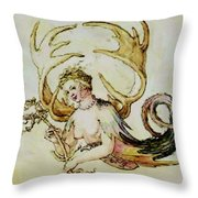The Chandelier Females 1513 Throw Pillow