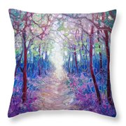 The Chaos And Hope Of Spring Throw Pillow