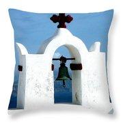 The Chapel Bell Throw Pillow