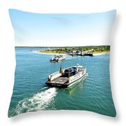 The Chappy Ferry Throw Pillow
