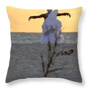 The Charm Throw Pillow