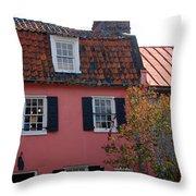 The Charm Of Charleston Sc Throw Pillow