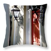 The Charme Of Charleston Sc Throw Pillow