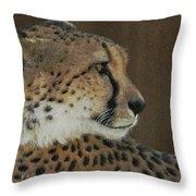The Cheetah 2 Throw Pillow