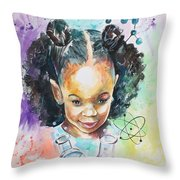 The Chemist In Me Throw Pillow
