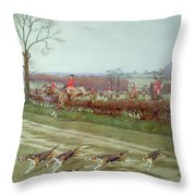 The Cheshire Away From Tattenhall Throw Pillow