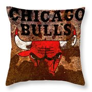 The Chicago Bulls R2 Throw Pillow