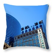 The Chicago Group Throw Pillow