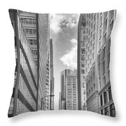 The Chicago Loop Throw Pillow