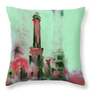 The Chicago Water Tower 535 4 Throw Pillow