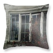 The Child At The Window Throw Pillow