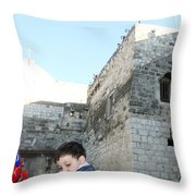 The Child Of Bethlehem 2010 Throw Pillow