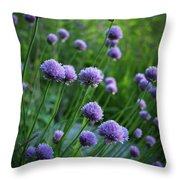 The Chive Patch Throw Pillow
