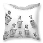 The Choir Throw Pillow