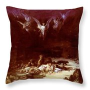 The Christian Martyrs Throw Pillow