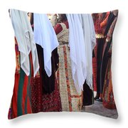 The Christmas Smile Throw Pillow
