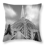 The Chrysler Building 2 Throw Pillow by Mike McGlothlen