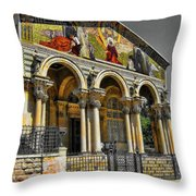 The Church Of All Nations Throw Pillow
